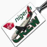 Virgin Nigeria 737 Tag